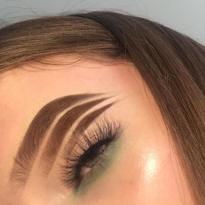 Beauty Blogger Comes Up With Halo Brow 'Trend,' And We Don ...