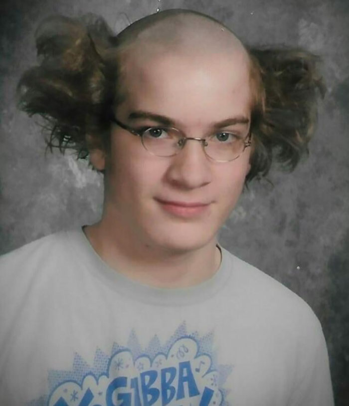 My 10th Grade Year Book Picture