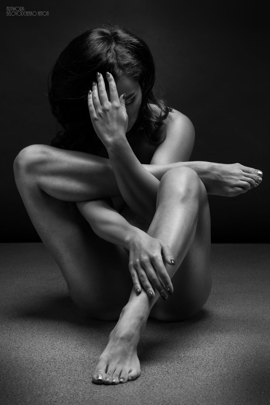 Black and white fine art nude photography really. was