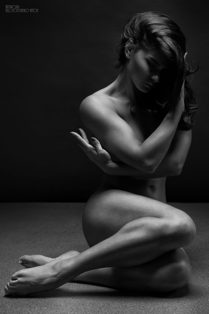 (Nsfw) Stunning Black And White Fine-Art Nude Photography 'Bodyscape'