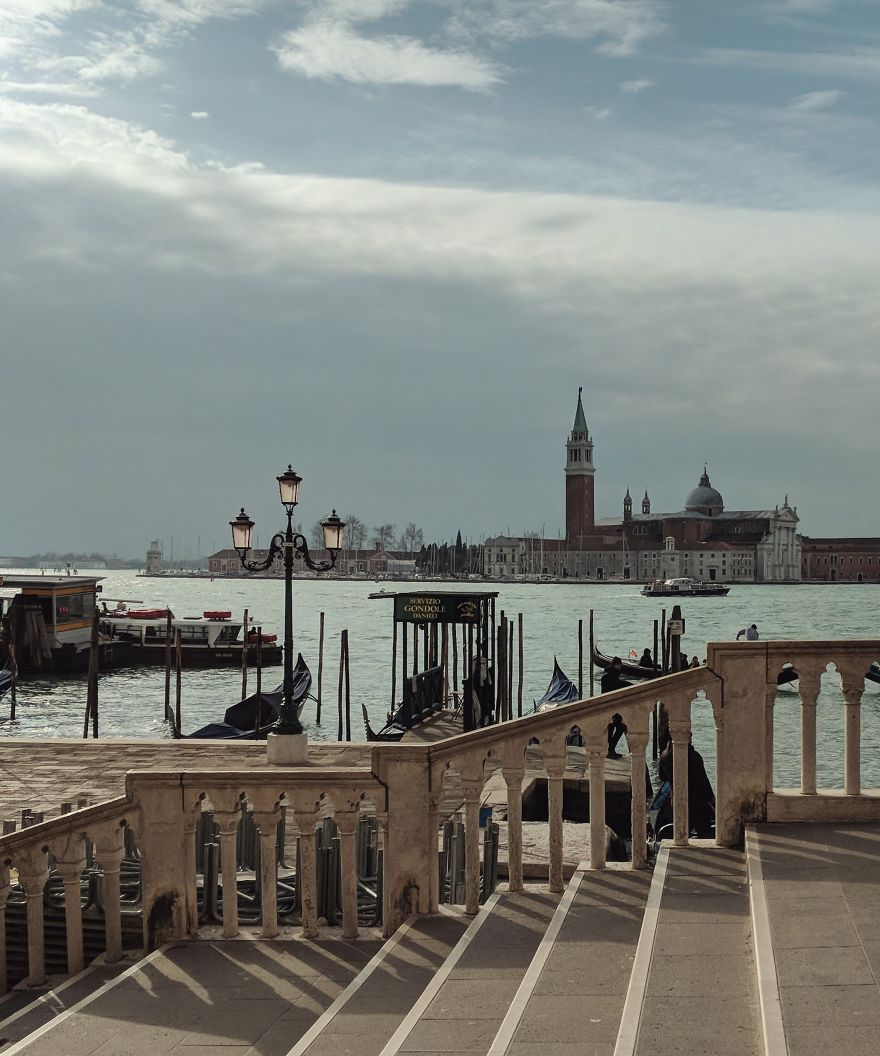 I Photographed The Unimaginable. A Completely Empty Venice.