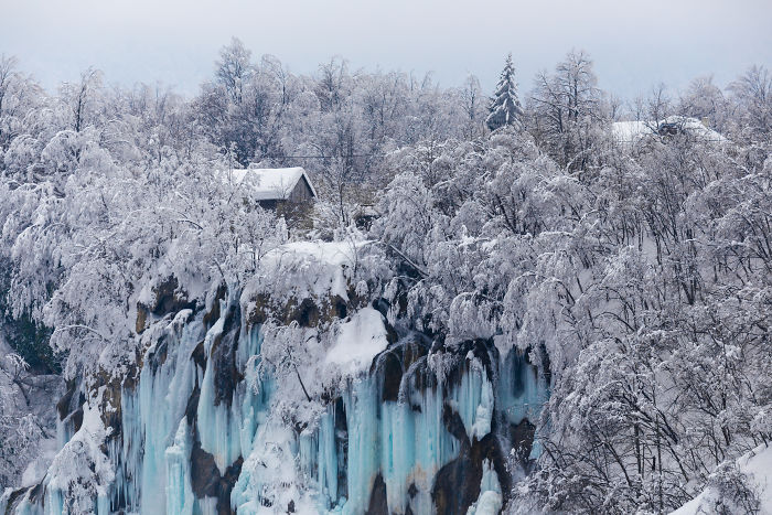 I Visited Plitvice In Winter
