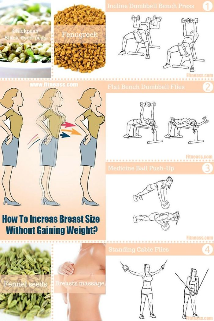 How To Increase Your Breast Size In 2 Weeks Naturally
