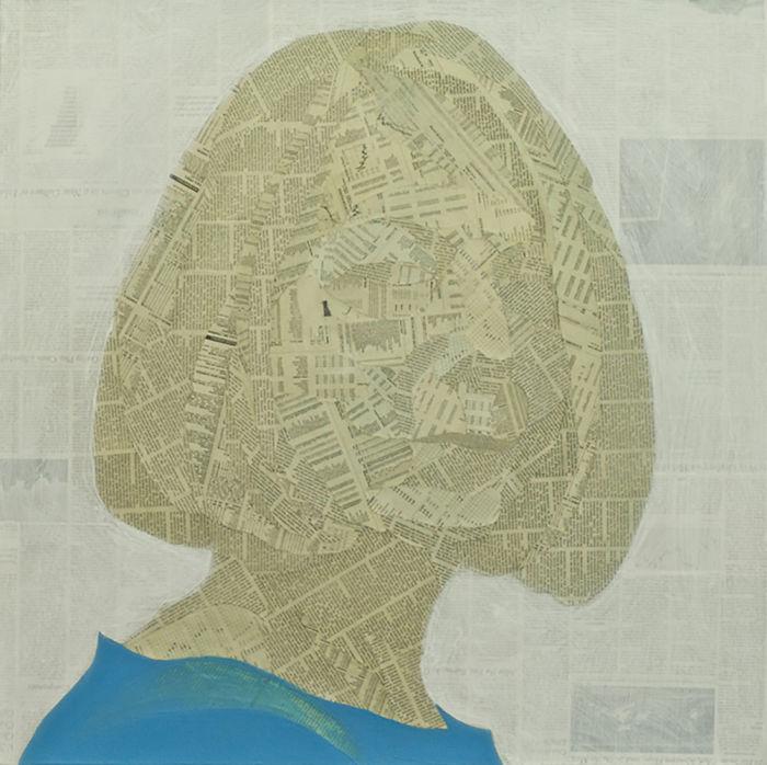Geoffrey Stein: Collage Portraits