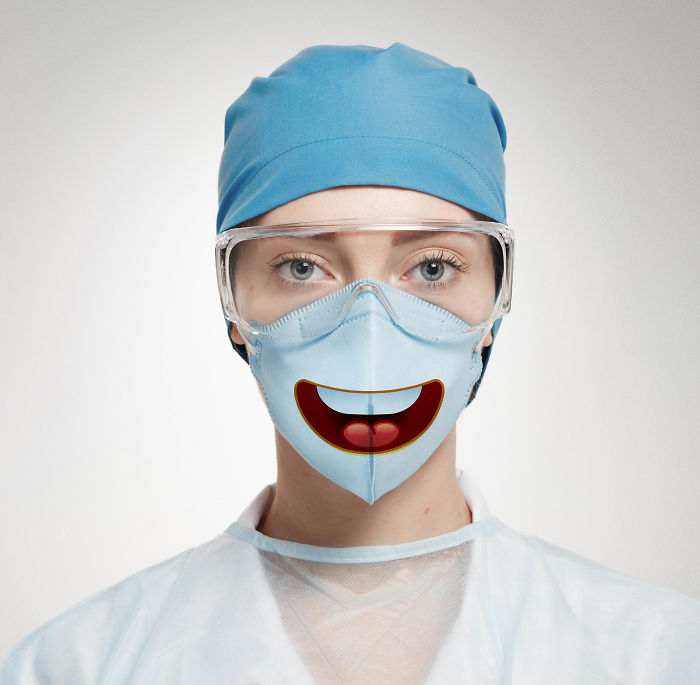 I Created Funny Nose Masks That Draw A Smile