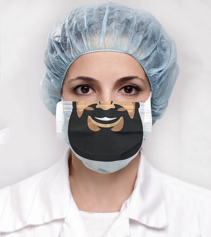 I Designed Funny Surgical Masks To Make Visits To The Hospital More Pleasant