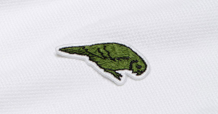 96f09d6eb509 Lacoste Replaces The Iconic Crocodile Logo To Raise Awareness About The Endangered  Species