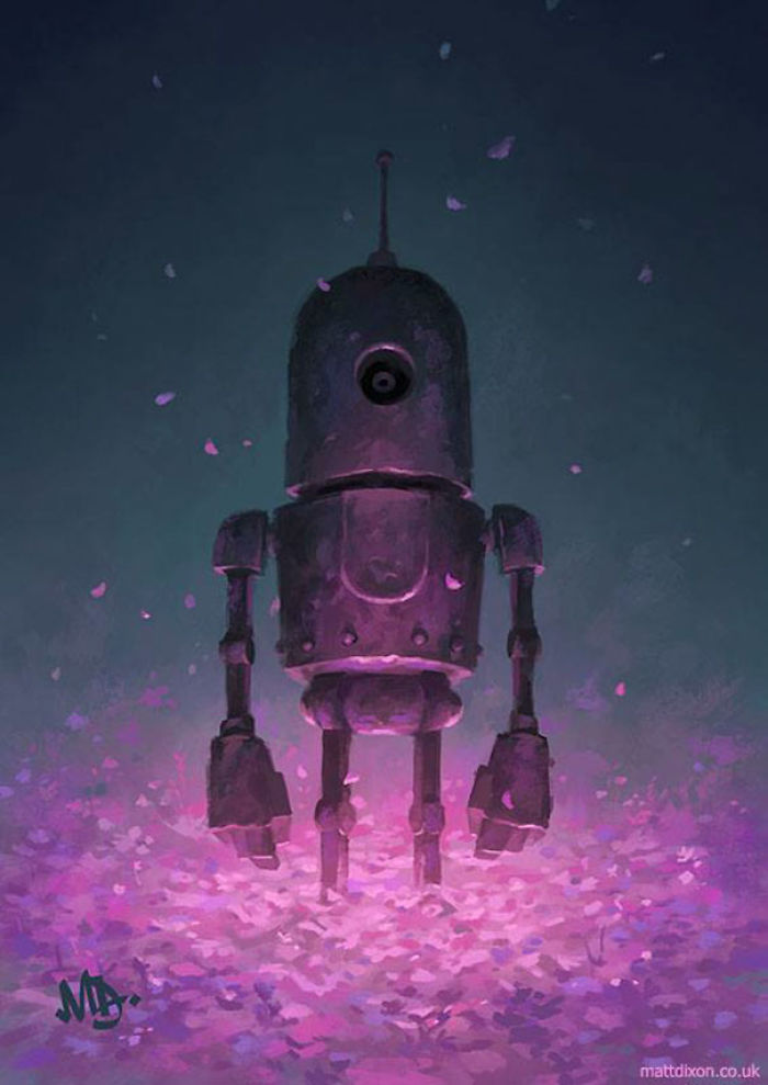 Lonely Robots Experiencing The Quiet Wonder Of The World ( Part 3 )