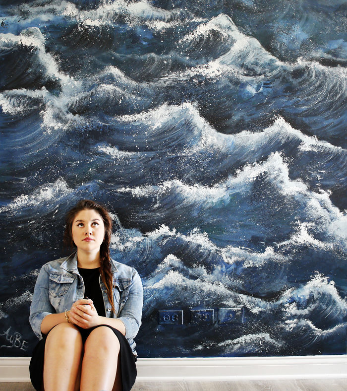 I've Painted All Waves At Her House