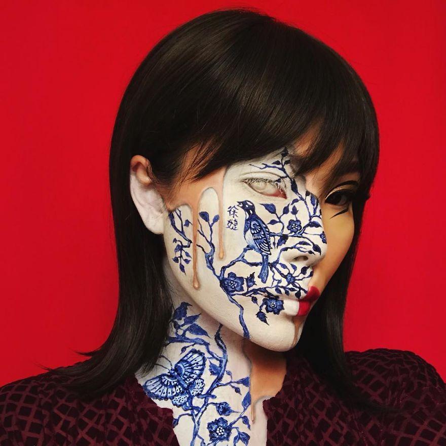 New-Optical-Illusion-Make-Up-Mimi-Choi