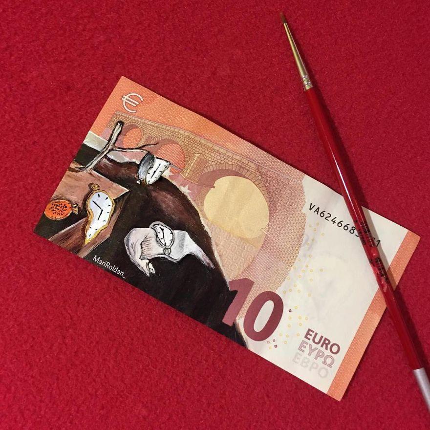 Painting-On-Money-Mari-Roldan
