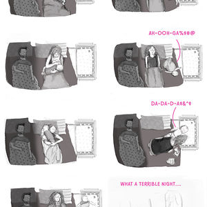 My Tired Mommy - Illustrated Experiences Of A Young Moother