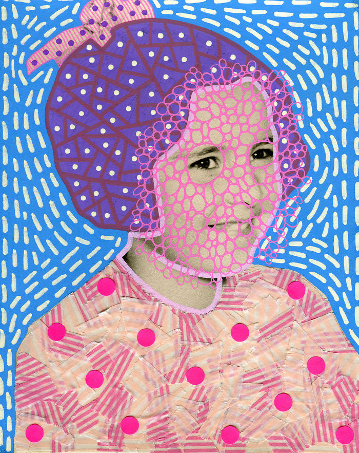 Naomi Vona Made These Amazingly Weird Collage Portraits, We Are In Love