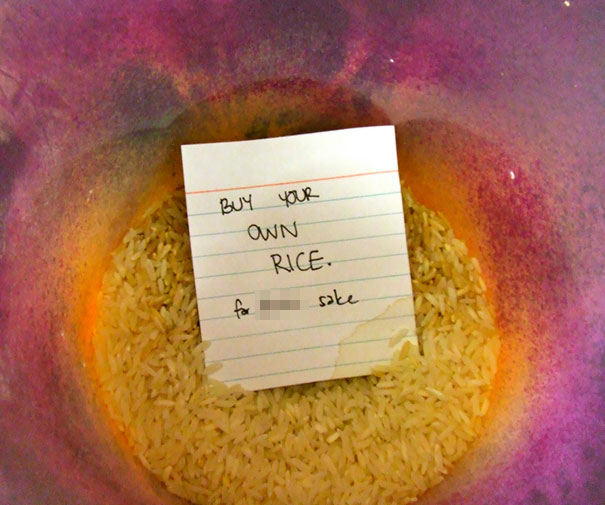 Buy Your Own Rice