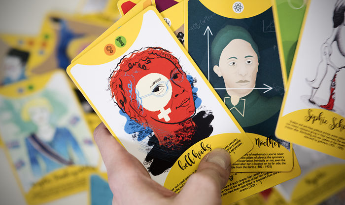 We Illustrated 56 Fierce Women For A Card Game That Will Inspire You
