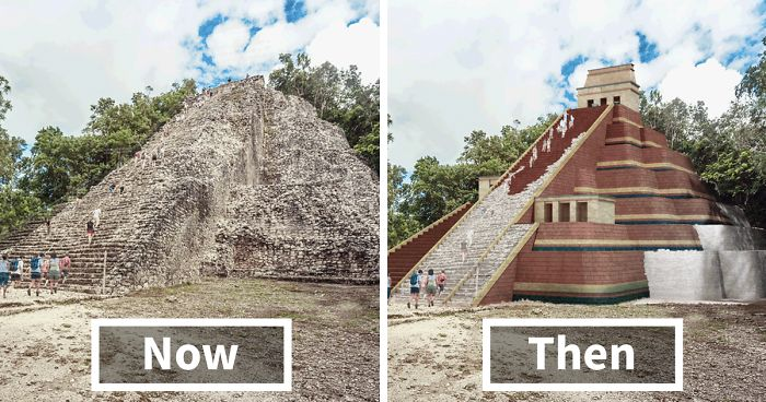 If 7 Famous Historical Buildings Were Brought Back To Their Ancient Glory