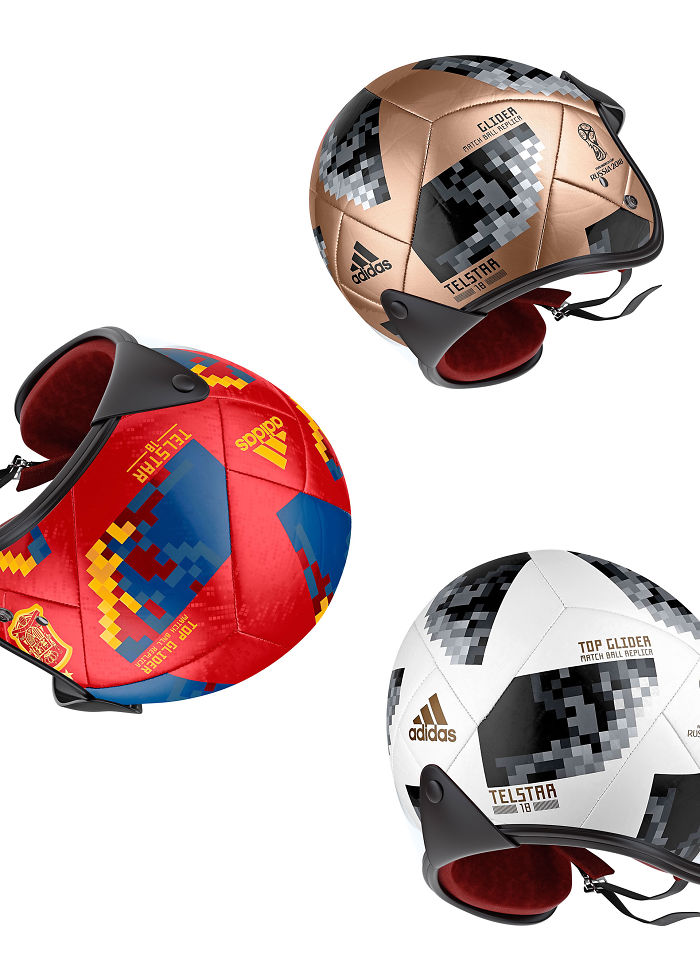 I Made Helmet Design Inspired By Fifa Russia 2018 Official Soccer Ball.