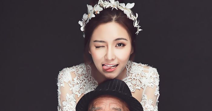 woman fulfills her ill grandfather s wish before it s too