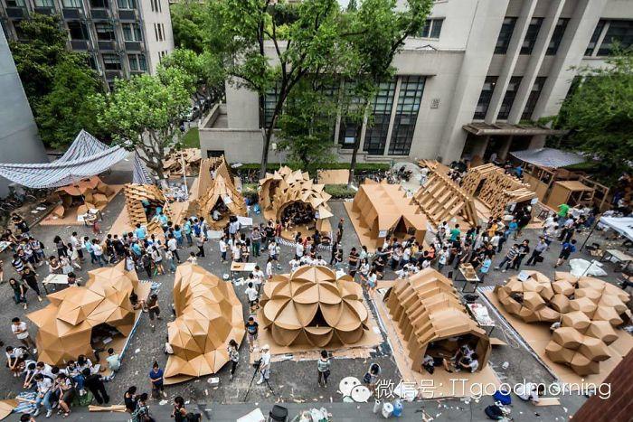 Amazing Cardboard House Exhibition