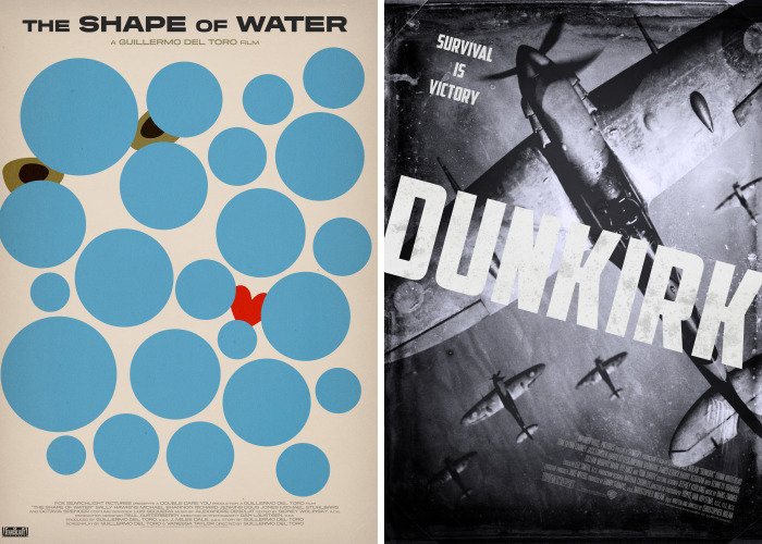 I Created Alternative Posters For The Nine Best Picture Oscar Nominees