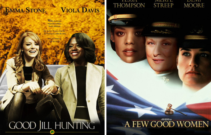 Iconic Movie Posters With An International Women's Day Twist Shows Gender Inequality In Top Films