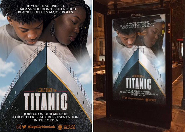 UK Activists Raise Awareness By Replacing White Actors With Black Leads In Movie Posters