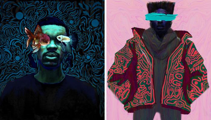 Artist Creates Noisy, Vibrant, Personal Images