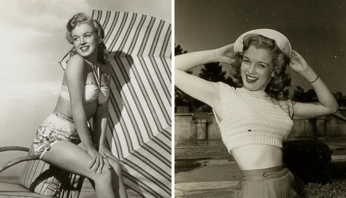 31 Unpublished Marilyn Monroe Pics To Be Sold On An Auction Show The Iconic Woman Before The Great Glory