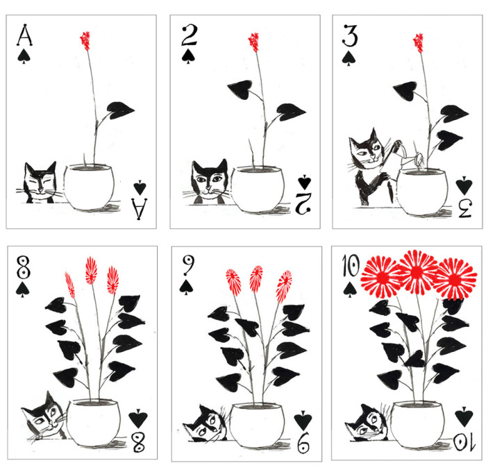 These Cat Playing Cards Are Visual Catnip For Cat Lovers Everywhere
