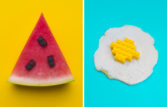 This Artist Completes Everyday Objects With Lego