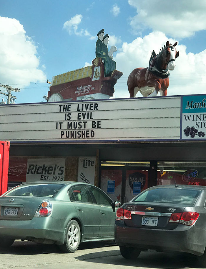 The Liquor Store In My Town