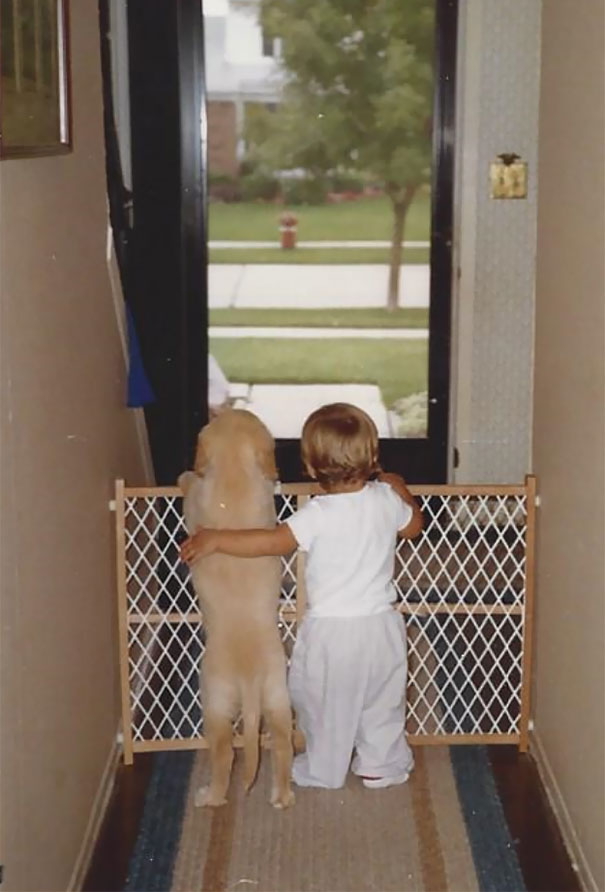 My Pup And I, Circa 1988