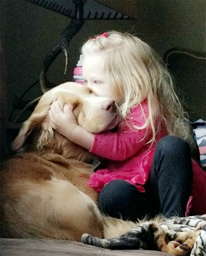 My Friend's Daughter And Her Dog