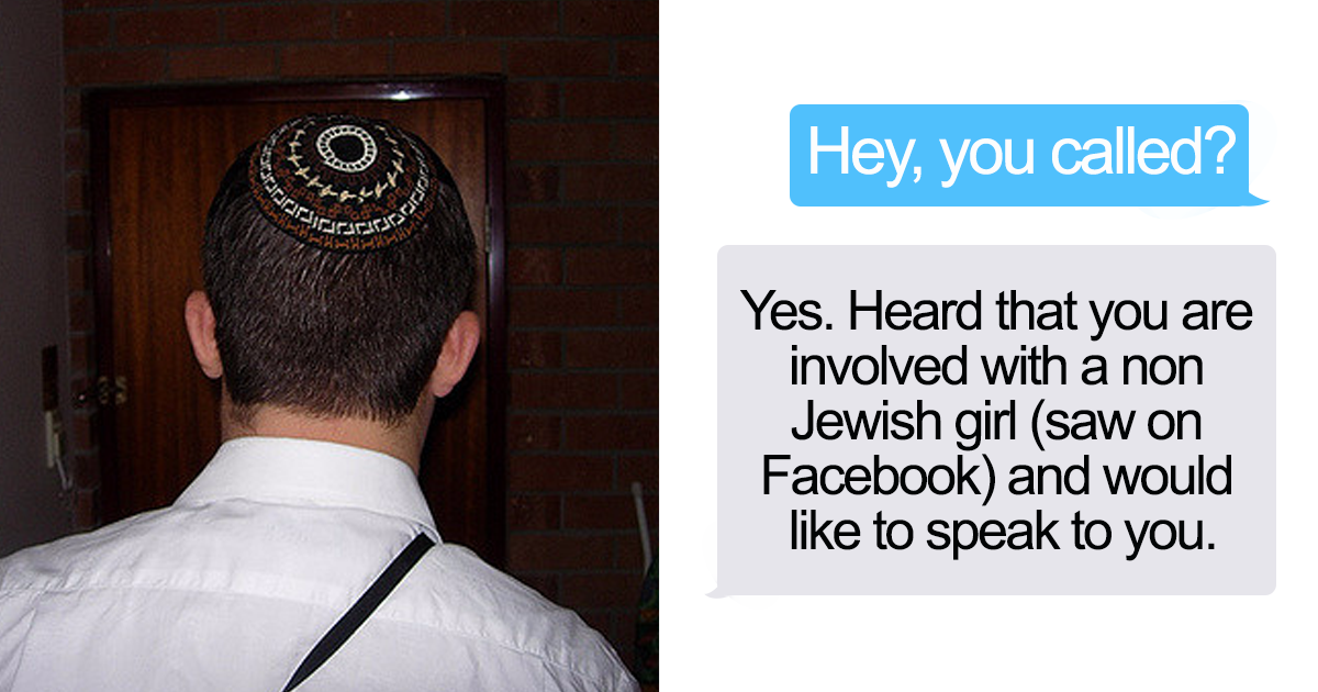 winsford jewish girl personals Jewish dating rules vary from family to family and from sect to sect if you want to meet a nice jewish girl, you should keep reading in this article, we'll help you learn the most important jewish dating rules.