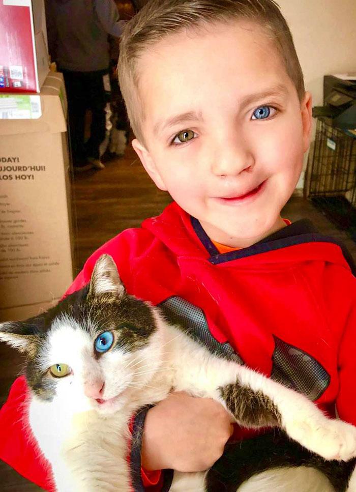Madden ze swoim kotem
