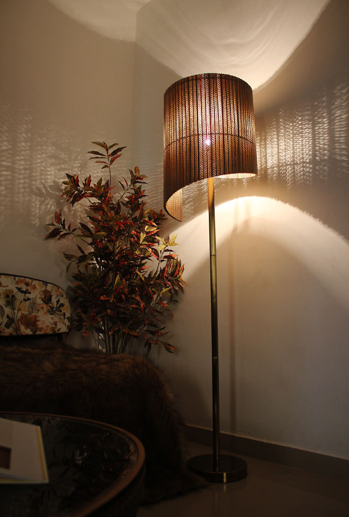 Cardboard Designer Lamps