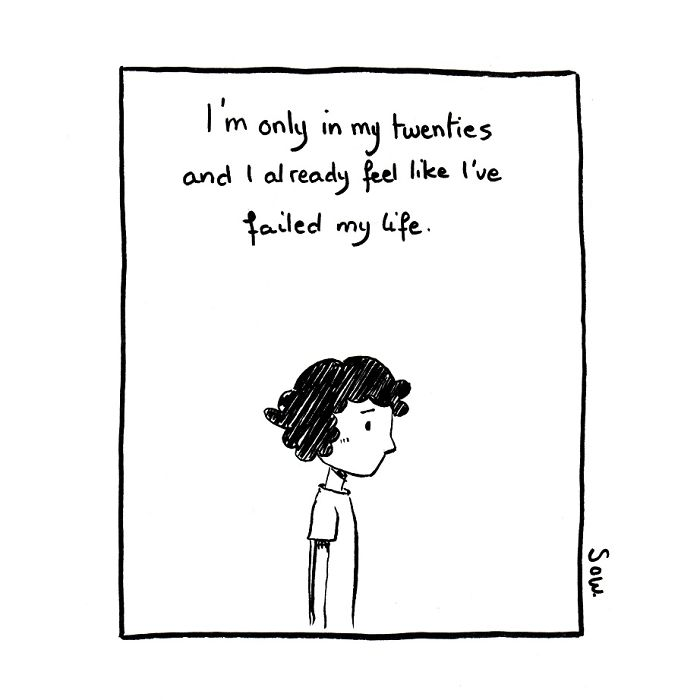 This Artist Illustrates His Dark Thoughts