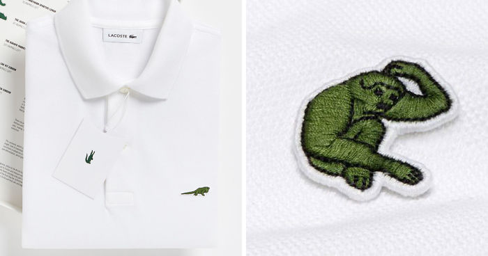 5dca64376687 Lacoste Replaces The Iconic Crocodile Logo To Raise Awareness About The  Endangered Species