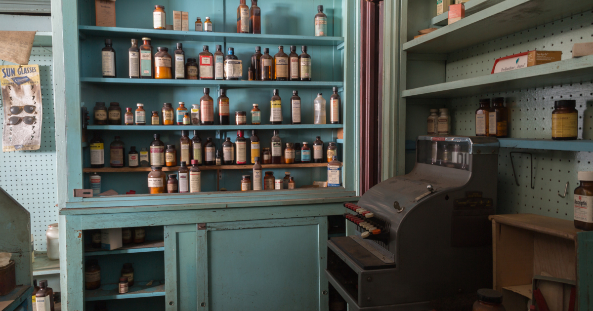 This Abandoned Pharmacy Is A 1950's Time Capsule. Prescription Drugs Left Behind!