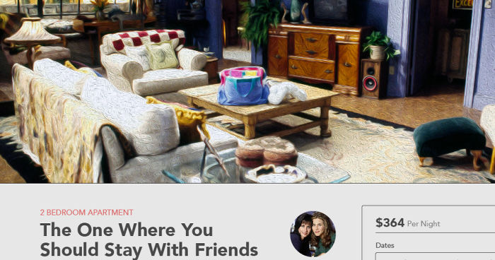 Fictional Airbnb Listings Price Out The Cost To Rent Tv