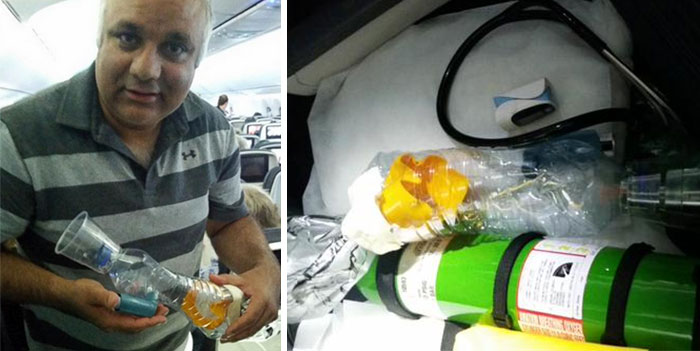 4 Hours Into An 8 Hour Flight From Spain To NYC, A Child Suffered An Asthma Attack And His Medicine Was In A Checked Bag. Fortunately A Pioneer Of Robotic Surgery Happened To Be On Board, And Dr. Khurshid Guru Was Able To Macguyver A Nebulizer And Save His Life