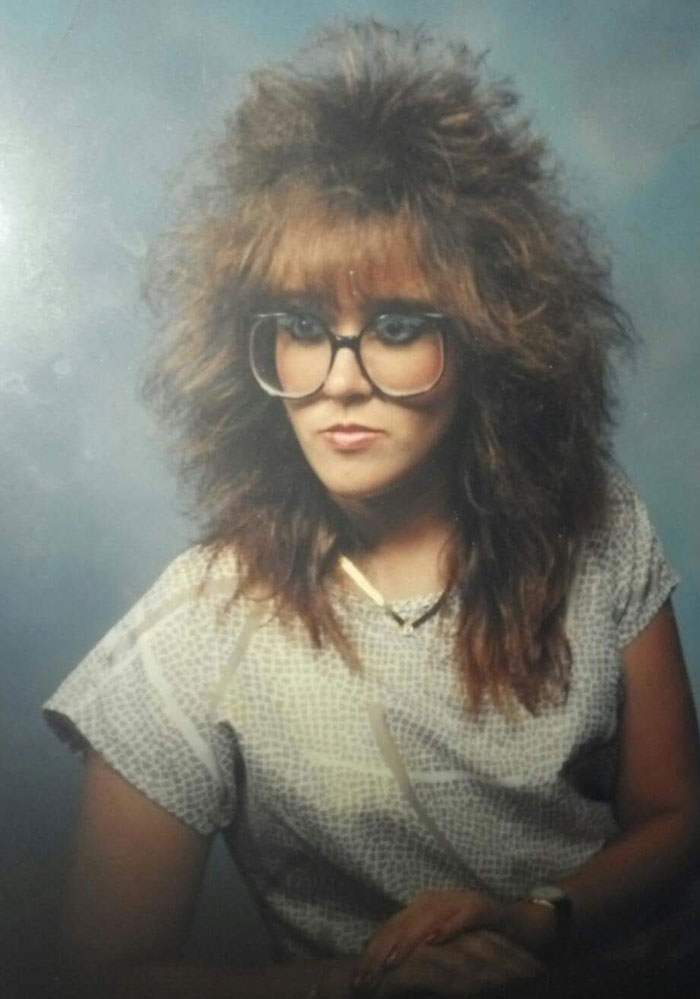 Me And All My Hair In 1988