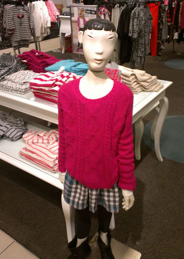 This Mannequin Scares Me