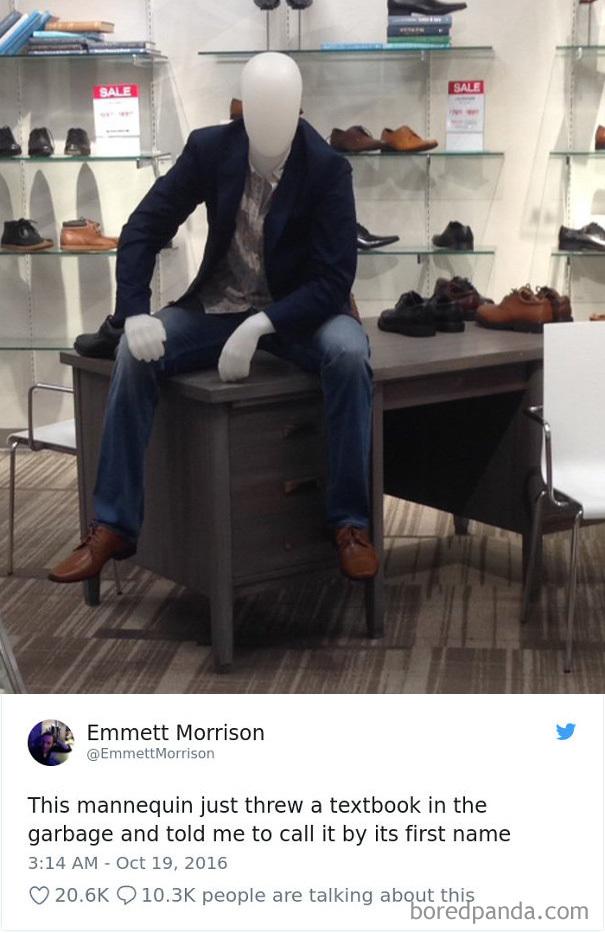 This Ridiculous Mannequin