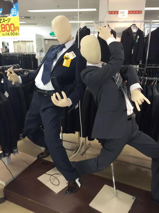 जापान में पुतलों
