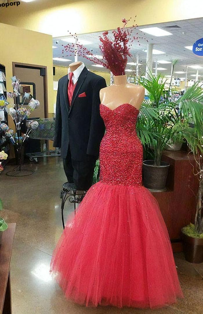 El vestido le ha volado la cabeza