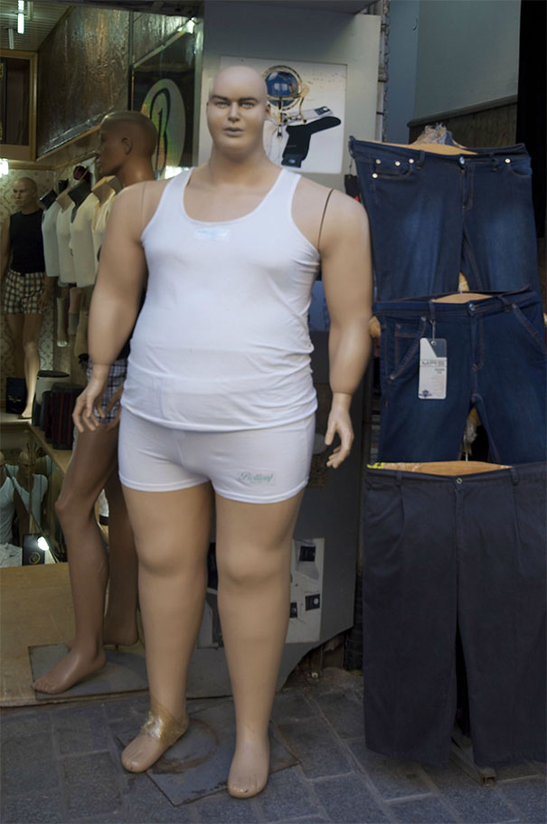 Anyone Else Horrified That They Make Obese Mannequins Too Now?