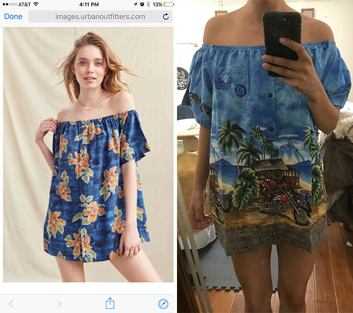 Online Shopping Strikes Again