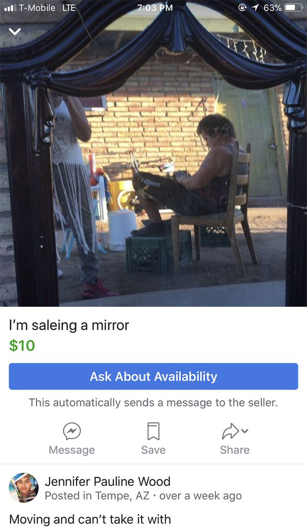 Funny People Sell Mirrors