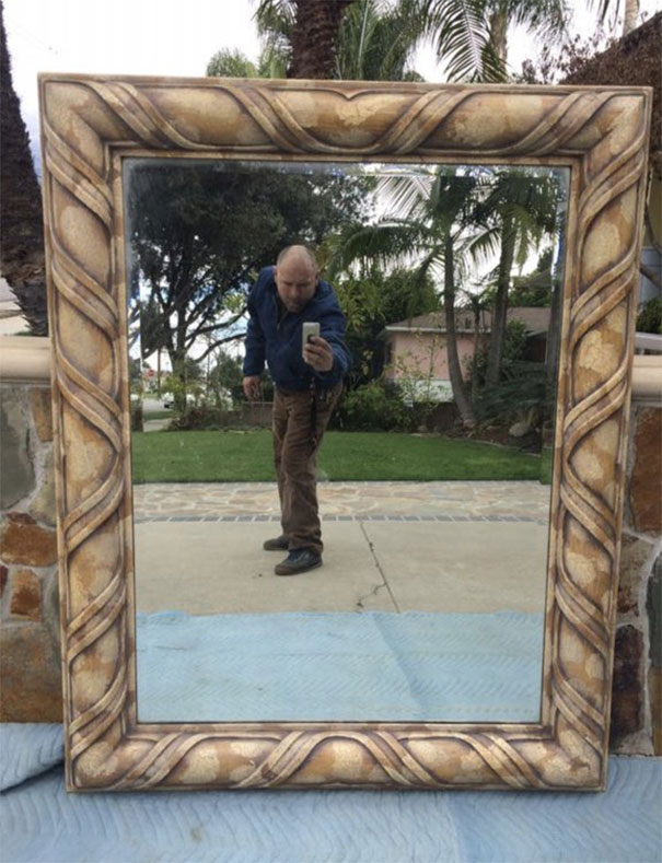 Funny People Sell Mirrors Reflections